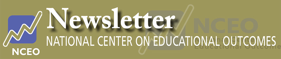 National Center on Educational Outcomes eNews